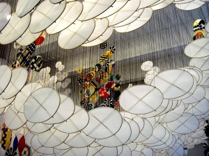 Jacob Hashimoto - Silence still governs our consciousness - photo by Alessandra Colucci