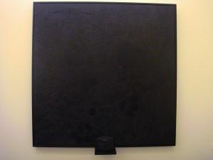 Luigi Carboni - Nero ombrato (Shaded Black) 2004-2008 - photo by Alessandra Colucci