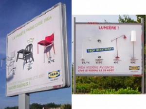 IKEA - ambient marketing