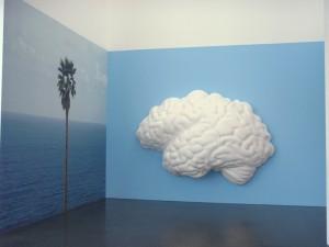 "John Baldessari ""Brain/Cloud"" - photo by Alessandra Colucci"