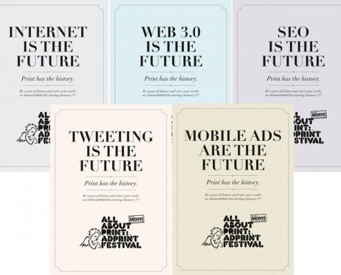 All About Print: AD Print Festival - campagna pubblicitaria