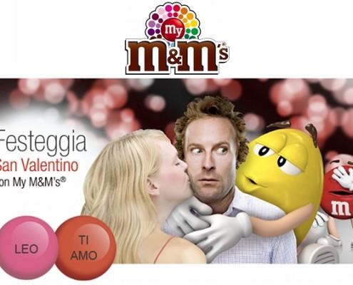 M&M's personalizzti per San Valentino