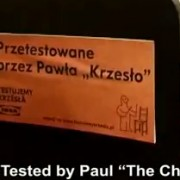 """Tested by Paul """"The Chair"""" - IKEA"""