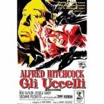 """Gli Uccelli"" by Alfred Hitchcock - locandina"