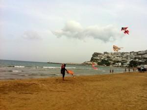 Peschici [panorama dalla spiaggia] © Alessandra Colucci