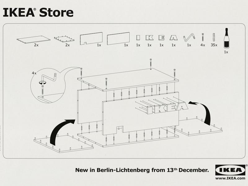 Ikea una brand identity tanto coerente da farti montare anche il suo store alessandra - Ikea montaggio mobili ...