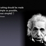 "Albert Einstein ""simple"" [quote]"