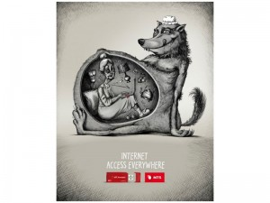 MTS Telecommunication - campagna pubblicitaria