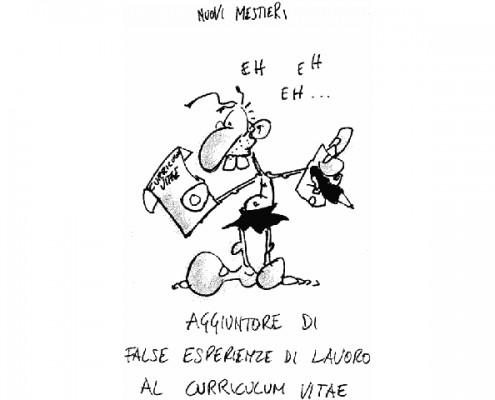 Nuovi mestieri - cartoon