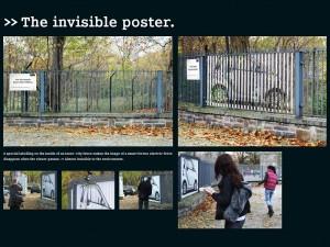"""SMART """"The invisible poster"""" - campagna pubblicitaria"""