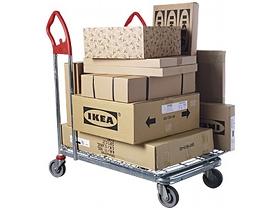 pacchi Ikea - via promofranchising
