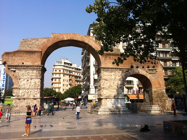 Arco Kamara a Salonicco - ©AlessandraColucci