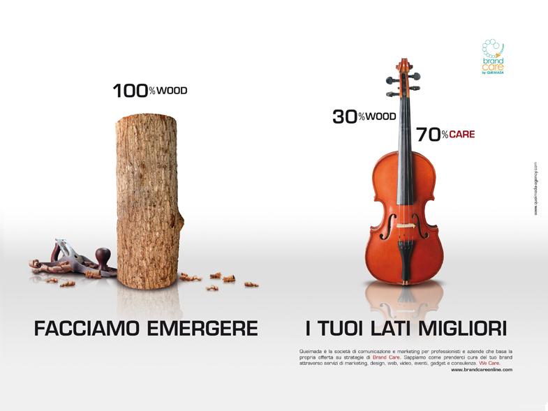 Queimada-Brand Care - campagna pubblicitaria