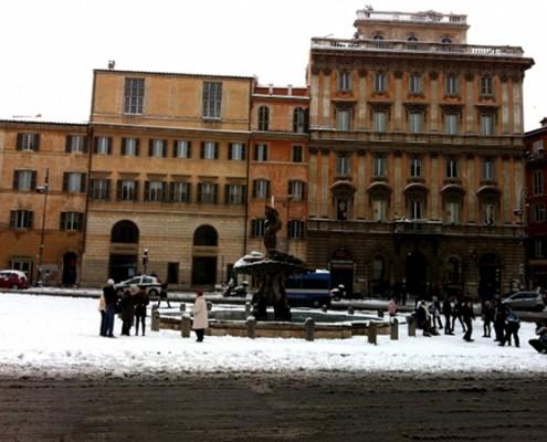 #nevearoma Piazza Barberini - ©AlessandraColucci