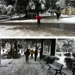 #nevearoma gli sciatori - ©AlessandraColucci