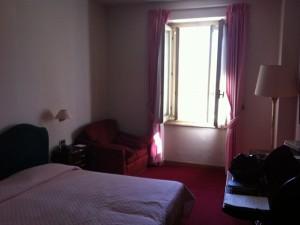 La mia stanza all'Hotel Poledrini © Alessandra Colucci