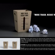 Y&R trash bin direct marketing - campagna di sensibilizzazione