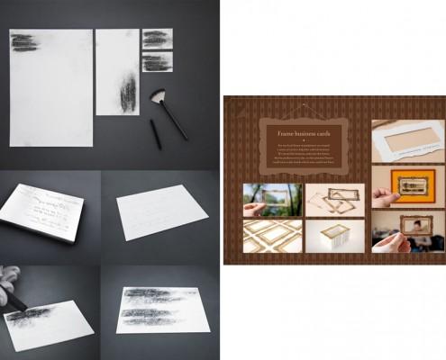 Coordinato per ufficio e creatività
