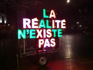 Bordeaux - La réalité n'existe pas © Alessandra Colucci