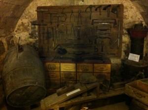 Bordeaux - Musée du vin e du négoce [utensili da bottaio] © Alessandra Colucci