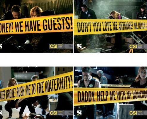 CSI - campagna pubblicitaria