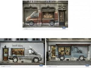 Ford Transit - campagna pubblicitaria