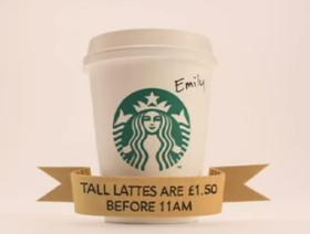 Starbucks - campagna pubblicitaria