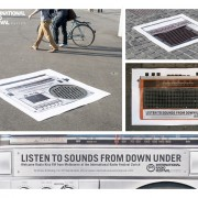 International Radio Festival Zurich - ambient marketing