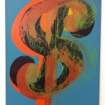 "MAMAC: Andy Warhol ""Dollar sign"""