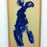 "MAMAC: Yves Klein ""Anthropométrie 174"""