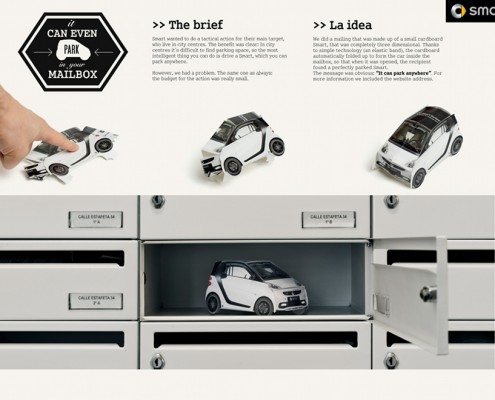 Smart - campagna direct marketing