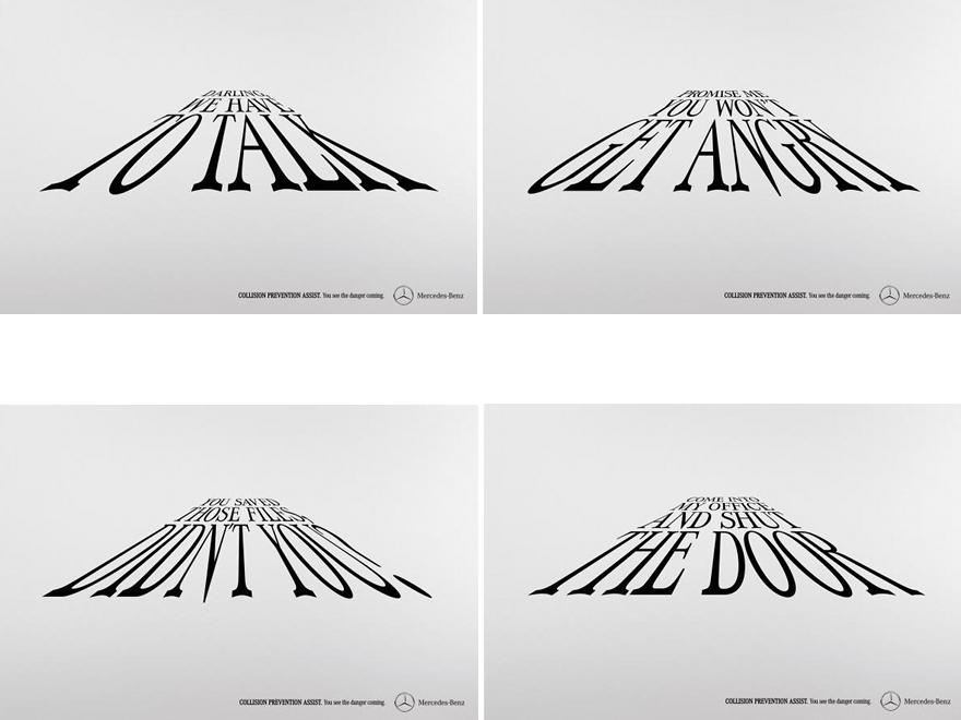 Mercedes - campagna pubblicitaria