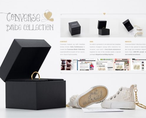 Converse Bride Collection - direct marketing