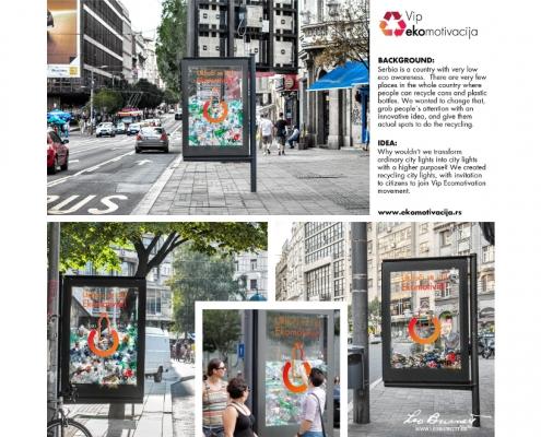 Vip Mobile - campagna di sensibilizzazione [lampione]