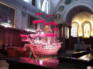 "Eglise Saint-Just - ""Barbie Slaves Ship"" Tom Sachs © Alessandra Colucci"