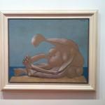 "Musée de Beaux Art - ""Donna seduta in spiaggia"" Pablo Picasso © Alessandra Colucci"