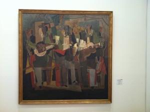 "Musée de Beaux Art - ""I tre musicisti"" Henri Hayden © Alessandra Colucci"
