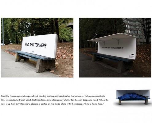 Rain City Housing - campagna di sensibilizzazione