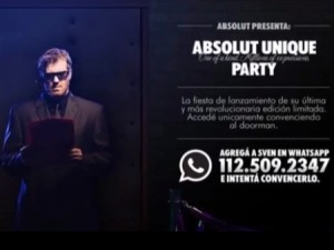 Absolute Vodka - social networking