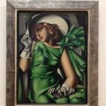 Tamara de Lempicka_Jeune fille en vert