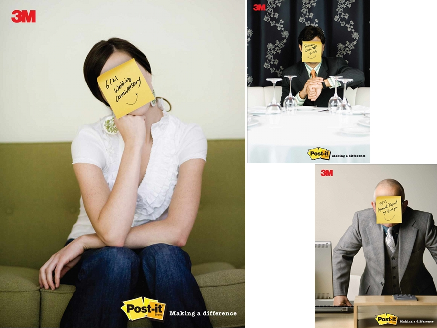 Post-it - campagna pubblicitaria