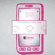 Running alarm - Vitasprint app