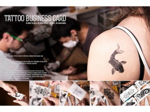Painel Tatoo Studio - business card