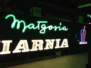 Varsavia - Museo Neon - matgosia