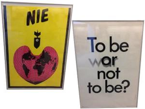 Varsavia - Museo Poster - contro la guerra e l'atomica