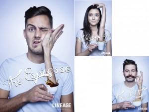 Lineage Coffee - campagna pubblicitaria