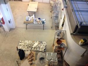 San Francisco - Academy of Arts - laboratorio scultura © Alessandra Colucci