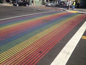 San Francisco - Castro - strisce pedonali © Alessandra Colucci