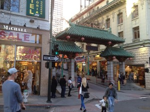 San Francisco - China Town - Gate © Alessandra Colucci