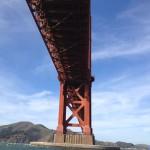San Francisco - Golden Gate Bridge da sotto © Alessandra Colucci